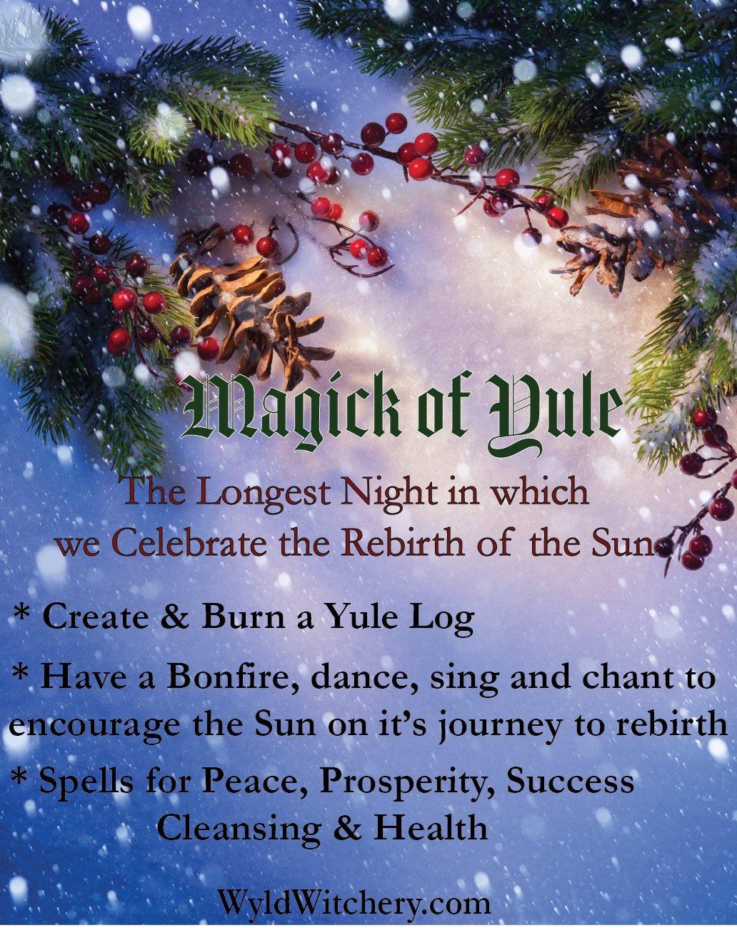 one week to yule  winter solstice       u2013 spirit oracle